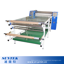 Máquina de transferência da imprensa do calor do rolo da sublimação para a impressão de matéria têxtil