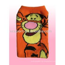 Nylon Karikatur Handy Socken