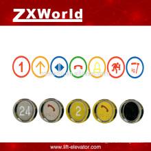 B13P3 pièces d'ascenseur bouton-poussoir / bouton-pousseur élévateur / bouton poussoirs d'ascenseur