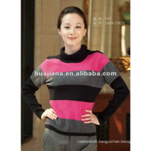 fashion ladies winter cashmere knits sweater