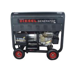 Generador diesel portátil (refrigerado por aire / tipo abierto)