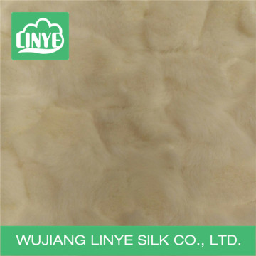 embossed plush wholesale faux fur blankets