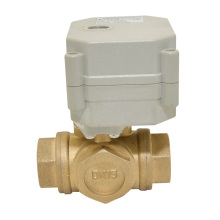 3 Way Horizontal Type L-Bore/T-Bore Quick Operating Motorized Electric Ball Valve