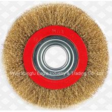 Verschiedene Arten des Drahtes Bohrstahl Tasse Coppe Pinsel