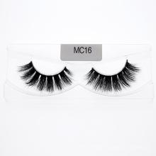 Customized 100% Hand Made Strip 3D 5D 25mm Mink Eyelashes Vendor for OEM Order