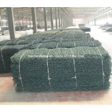 Customized 100X120mm Mesh Size Galvanised Wire Mesh River Gabion Mattress