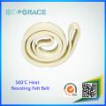 Hitzebeständige Aluminium-Extrusion Kevlar Nomex Filzgürtel
