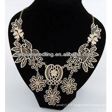 Nouveau collier de collier à chaîne dorée LS-125