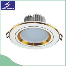 7W SMD 85-265V Aluminium LED Einbauleuchte