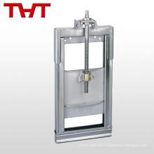 válvula de agua de compuerta de acero inoxidable de alto rendimiento