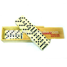 Conjunto de madeira Box Domino