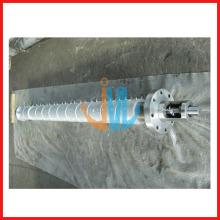 Цилиндр шнека экструдера BONE BROTHER с нагревателями и термомуфтами