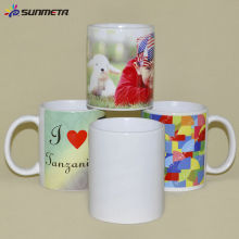 FREESUB Sublimation Transfer Printed Large Coffee Mug