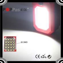 B71 20SMD +3 LED Mini Magnetic Base Portable Pocket Car Work Light