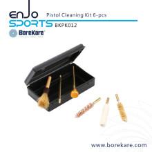 Borekare 6-PCS Gun Cleaning Pistol Kit Gun Cleaning Brush
