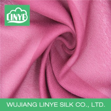 polyester imitate crepe de chine fabric, summer dress fabric design, wedding decoration material