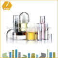 Rouleau plastique organique sur bouteille à base de plantes aromatiques à l'huile d'argan cosmétique