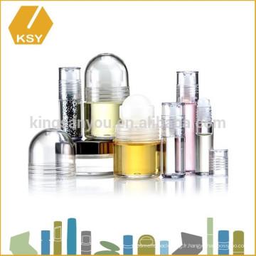 Emballage bon marché bouteilles cosmétiques en plastique sans air