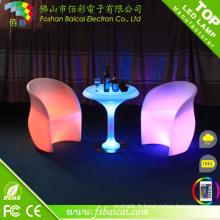 Table de bar à table à LED moderne (BCR-876T)