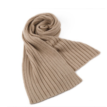 Rib Pattern Knitted Scarf Winter Circle Loop Scarf (SK106)