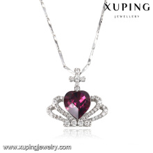 43152 Cristaux élégants en forme de coeur de Swarovski bijoux pendentif collier
