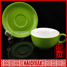 Factory direct customized cup and saucer, teacup and saucer