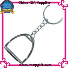 Porte-clés en métal avec cadeau de chaussure de cheval