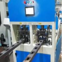 Máquina de perfuração do canal do perfil dos furos da estação dobro