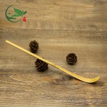 Cuchara dorada de bambú para polvo de té verde Matcha