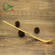 Colher De Bambu Dourado Para Matcha Chá Verde Em Pó