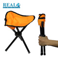 Easy to carry outdoor folding camping chair portable metal hiking stool