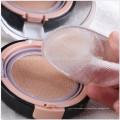 Прозрачный силиконовый силиконовый порошок губка макияж губка косметический