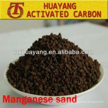 Contenido de MnO2 medios de filtro de arena de manganeso al 35% para purificación de aguas residuales