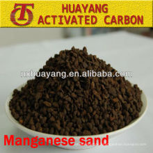 MnO2 content 35% manganese sand filter media for sewage purification
