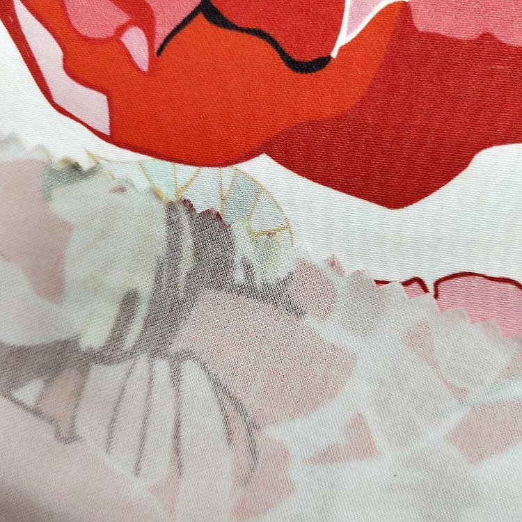 Digital Printed Cotton Fabric