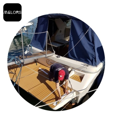 Melors Marine Teak Floor Decking Sheet Almohadillas de EVA