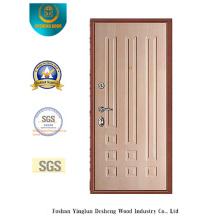 Puerta de acero de estilo moderno para interiores y exteriores (Q-1010)
