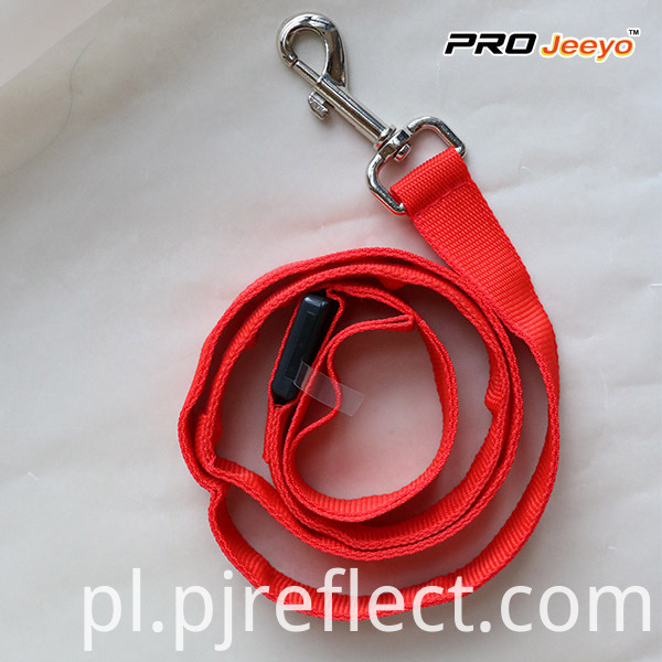 Safety Reflective Pink Pets Leashes SVP-003