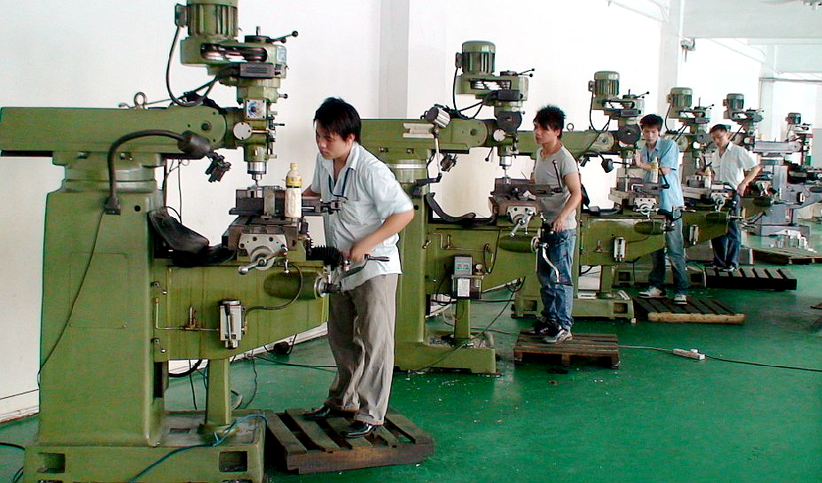 Factory making hooks