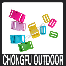 """New arrived 1"""" plastic buckle and tri-glide for backpack nanjing supplier"""