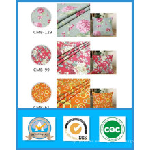 Venta caliente de los diseños de los mil diseños Tela de la lona impresa 100% de algodón en la acción Peso 250GSM Anchura 150cm