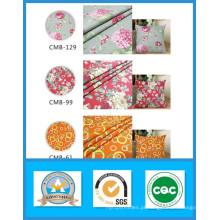 Mil Projetos Venda Quente 100% Algodão Impresso Tecido Lona em Estoque de Peso 250GSM Largura 150 cm