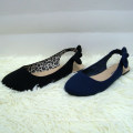 2014 hot selling sweet style pointed toe flat shoes with dedicate bow Elegant noble thin shoes