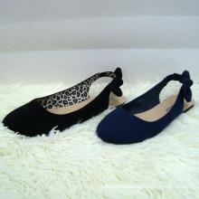 2014 Chaussures plates pointue avec des chaussures plates pointues et douces avec arc dédié Chaussures nobles élégantes et minces