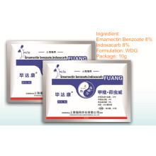 Insecticida Agroquímico Alta Eficiência Formulação Wdg Emamectina Benzoato & Indoxacarbe