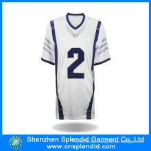 Garment Ice Hockey Shirt White Soccer Jersey with High Quality