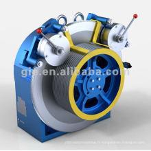 Machine de traction sans engrenage avec certificat ISO et CE