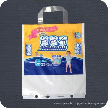Sac d'emballage personnalisé imprimé en plastique personnalisé