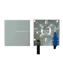 Placa frontal de 2 puertos Optic Socket / Mini Fiber Optic