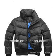fashion men's ice blue winter wear down jackets